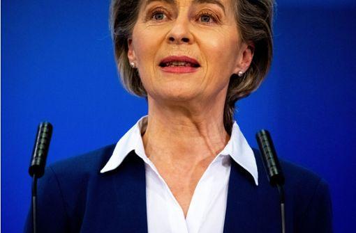Kommissionspräsidentin im Krisenmodus