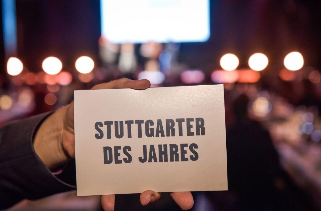 Die Stuttgarter des Jahres sind ausgezeichnet worden. Foto: Lichtgut/Max Kovalenko