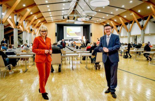 Söder bei der CDU-Basis in der Region Stuttgart wohl vorne