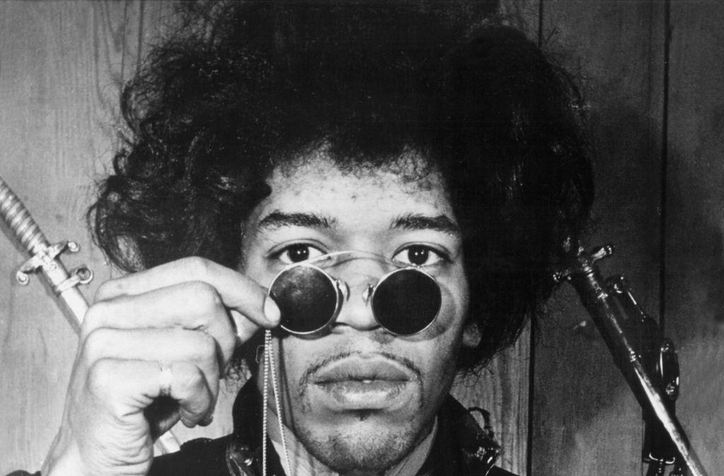 Jimi Hendrix ist bei vielen Rockgitarristen-Ranglisten auf Platz eins gesetzt. Foto: dpa