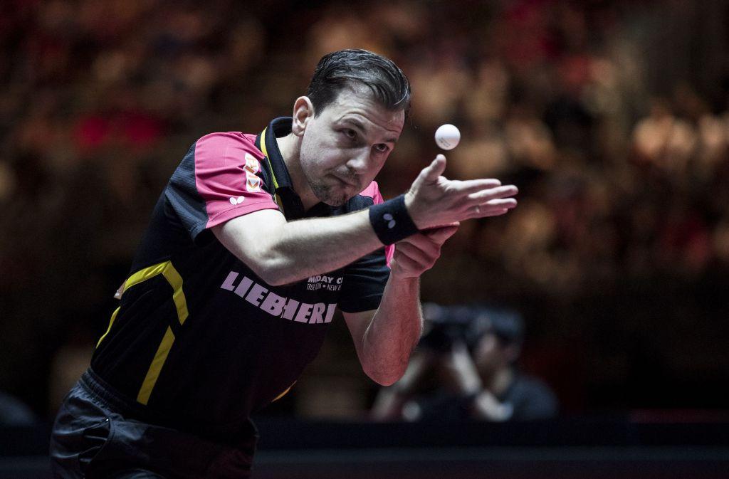 Aler schützt vor Leistung nicht: Timo Boll hat eine großartige WM gespielt. Foto: Getty