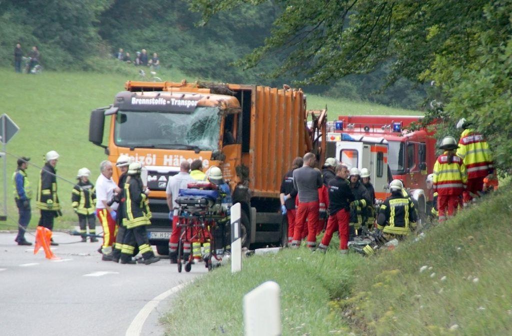 Bei dem Unfall waren fünf Menschen ums Leben gekommen. Foto: