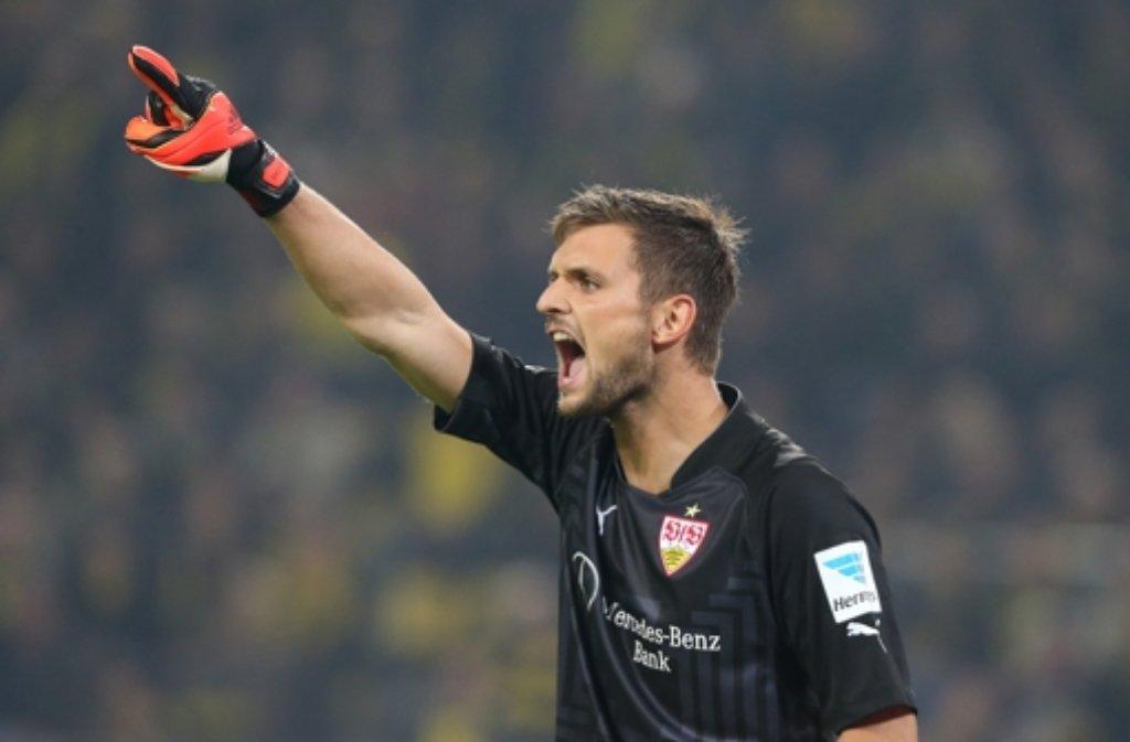 VfB-Stuttgart-Torwart Sven Ulreich hat auf Facebook ein Machtwort gesprochen. Nach beleidigenden Kommentaren auf einen seiner Posts forderte er die Fans auf, in Zukunft respektvoll miteinander umzugehen. Foto: Pressefoto Baumann