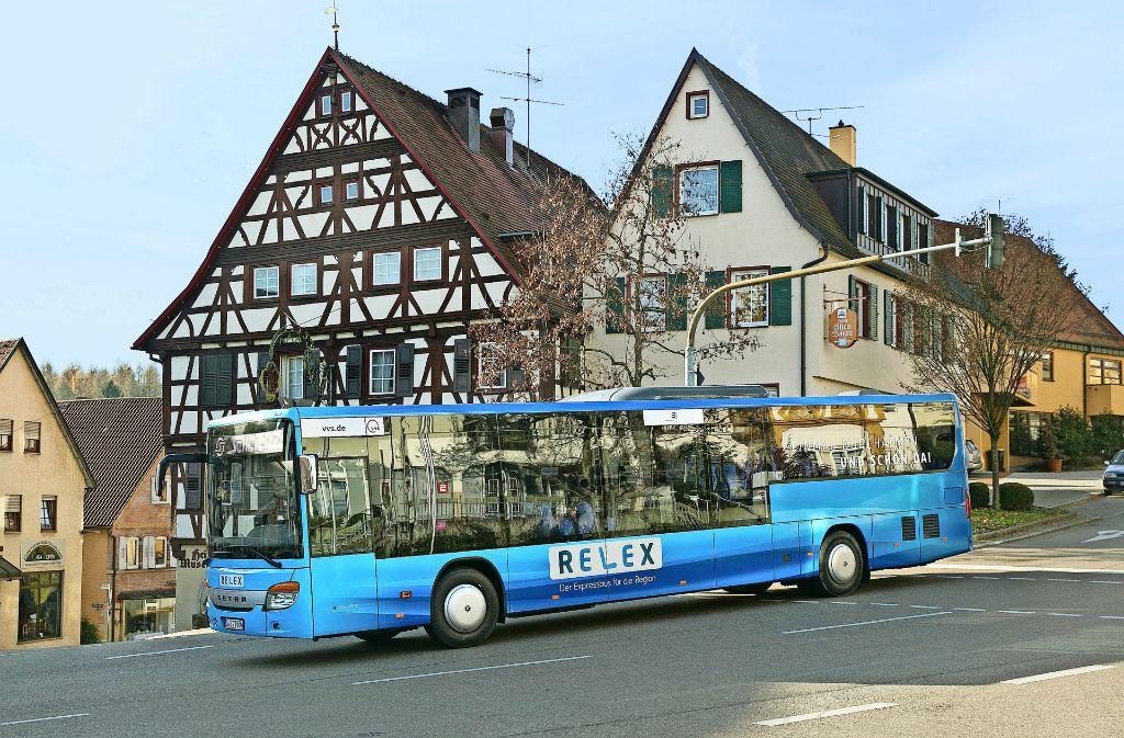 Von den drei neuen Expressbuslinien, die am 11. Dezember in Betrieb gehen,  profitiert auch die Gemeinde Denkendorf. Foto: Horst Rudel