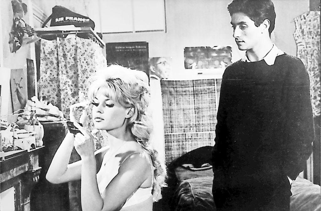 Gilbert (Sami Frey) will Dominique (Brigitte Bardot) für sich. Foto: Arte/CPT Holdings Inc