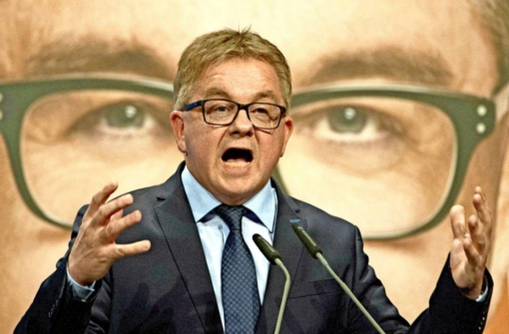 Auch in den eigenen Reihen hat der CDU-Spitzenkandidat Guido Wolf nicht immer einen leichten Stand. Foto: dpa