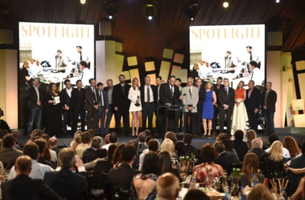 """Das Enthüllungsdrama """"Spotlight"""" räumt bei der Vergabe der Independent Spirit Awards fünf Trophäen ab. Foto: AP"""