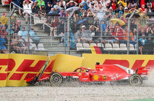 Verliert Vettel die Nerven?