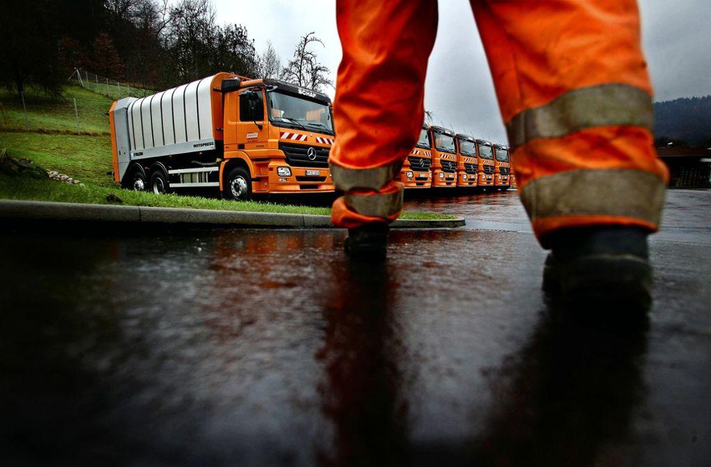 Die Preise für die Müllabfuhr bleiben für die Bürger vorerst wie sie sind. Foto: Gottfried Stoppel