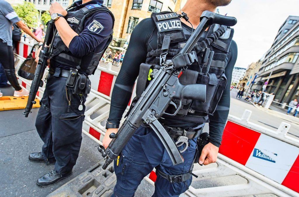 Das HK MP 5 von Heckler & Koch ist weltweit bei Sicherheitskräften im Einsatz. Foto: dpa