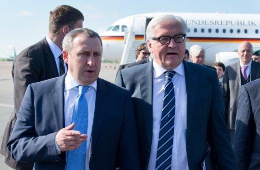 Steinmeier sagt Ukraine deutsche Hilfe zu