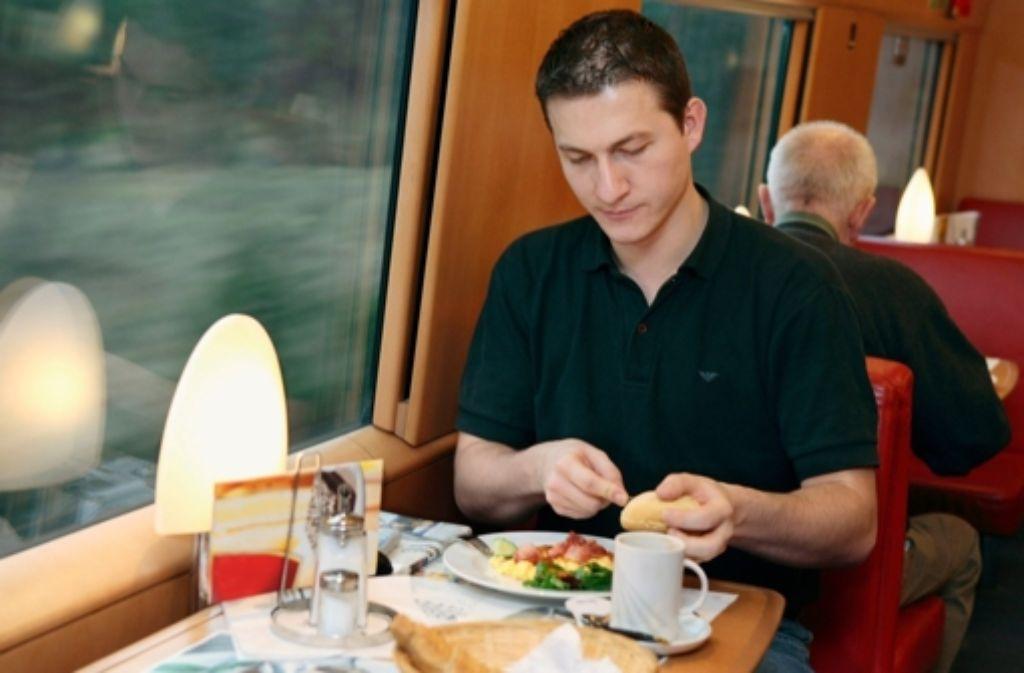 Die Bahn kämpft  gegen Kartelle – auch beim Bordbistro. Foto: DB