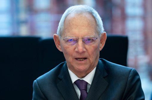 Wolfgang Schäuble nimmt Philipp Amthor in Schutz