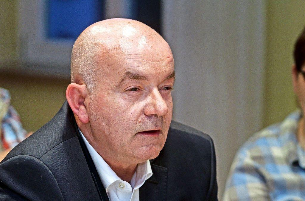Detlev Zander, Sprecher des Betroffenenforums Foto: factum/Archiv