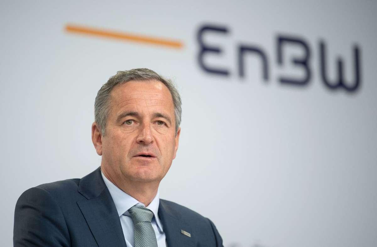 Frank Mastiaux ist seit fast neun Jahren EnBW-Vorstandsvorsitzender. Foto: dpa/Marijan Murat