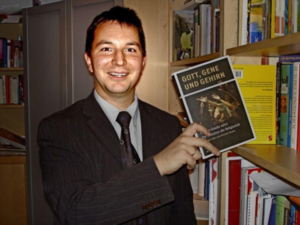 Michael Blume wünscht sich Begegnungen zwischen den Religionen. Foto: Claudia Barner
