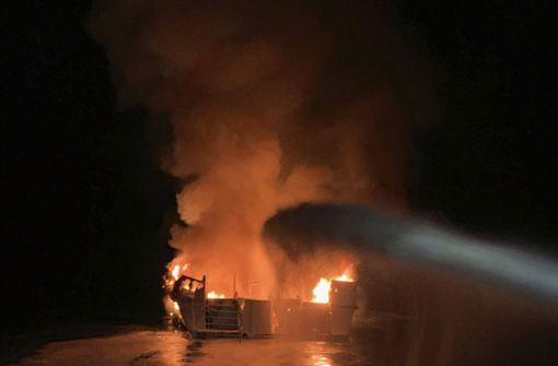 Taucherausflug abgebrochen – Boot in Flammen