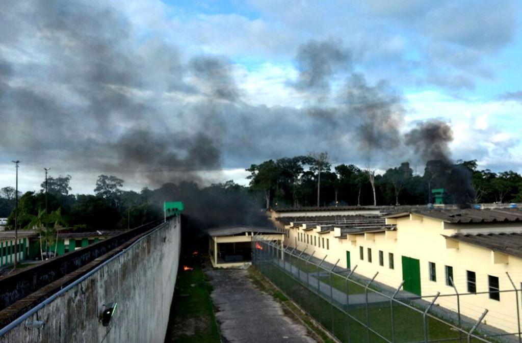 Immer wieder kommt es zu Ausbrüchen und Revolten in brasilianischen Gefängnissen. Foto: dpa (Symbolbild)