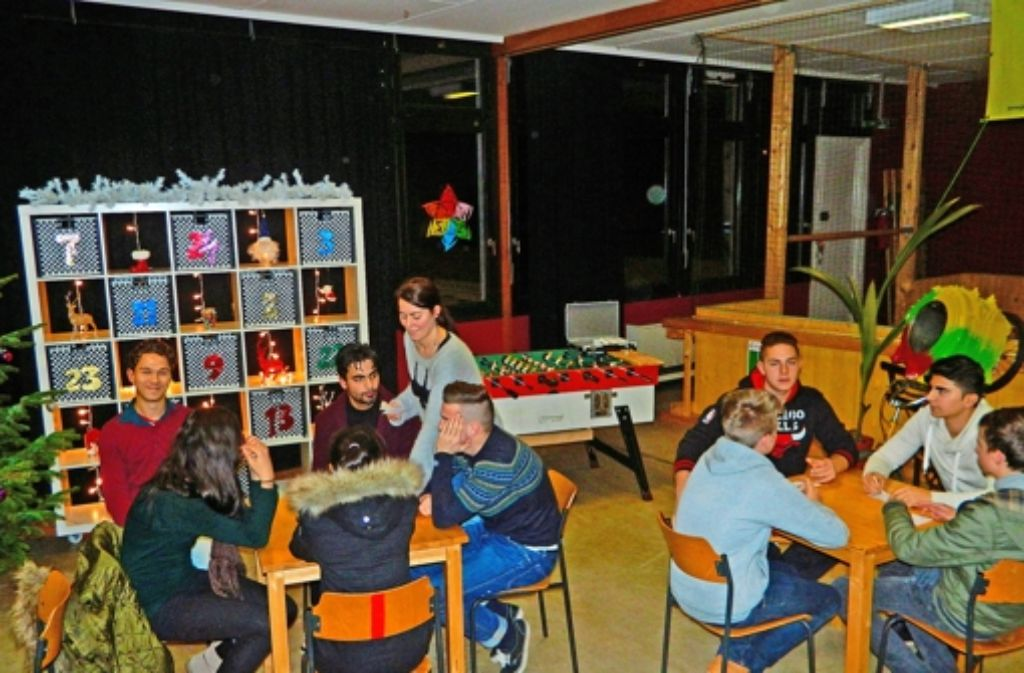 Das Weihnachtsbingo im Jugendtreff Lauchau wird gut angenommen. Foto: