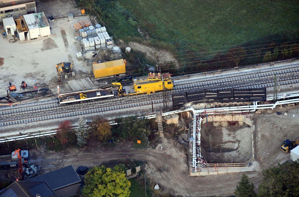 Die Ursachen für den Schaden am Tunnel werden untersucht. Foto: dpa
