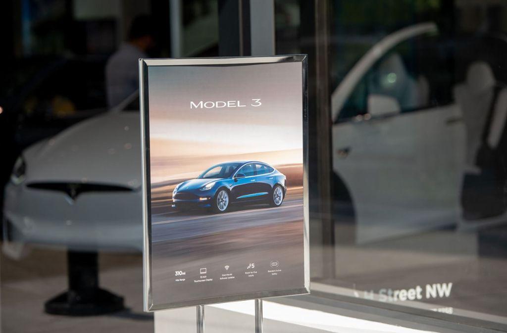 Viele Tesla-Filialen sollen in Kürze geschlossen werden. Foto: AFP