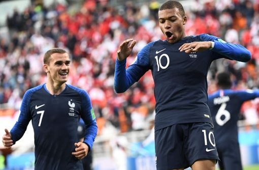 Kilian Mbappé schießt Frankreich ins Achtelfinale