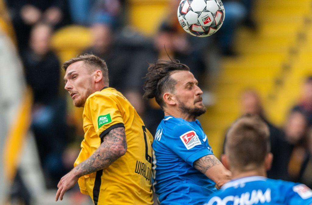 Seit Sommer 2018 für Dynamo Dresden am Ball: der Schwede Linus Wahlqvist (li.) Foto: dpa