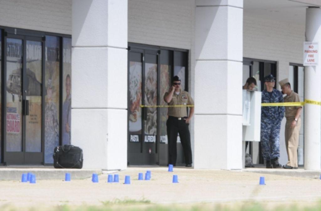 Ein Schütze griff am Donnerstag zwei US-Militäreinrichtungen im US-Bundesstaat Tennessee an. Foto: AP