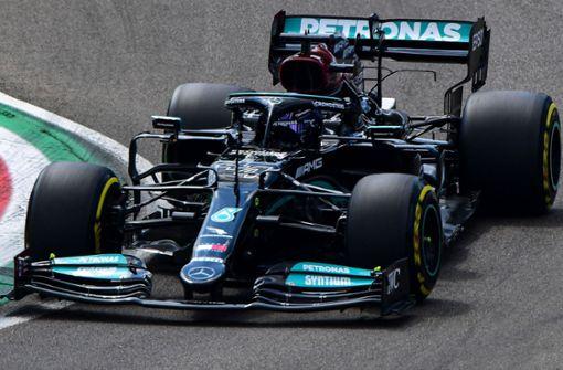 Lewis Hamilton in Imola auf Startplatz eins