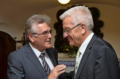 Beamte und Grün-Schwarz auf Konsenskurs