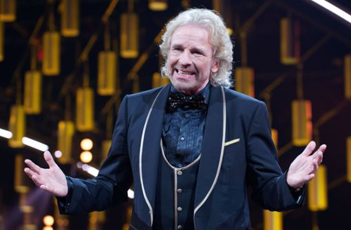 Thomas Gottschalk in Western-Look