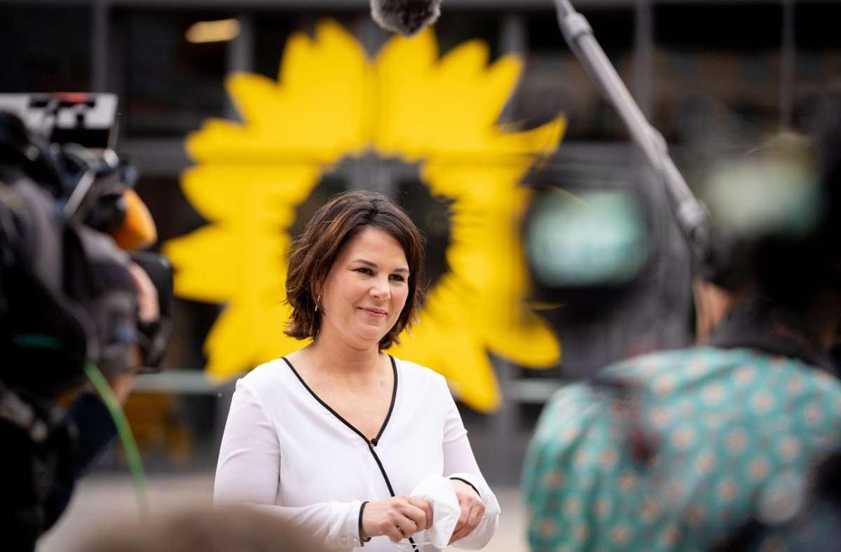 Annalena Baerbock, Kanzlerkandidatin und Bundesvorsitzende von Bündnis 90/Die Grünen. Foto: dpa/Kay Nietfeld
