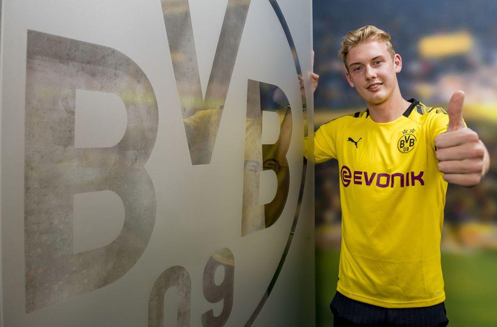 Julian Brandt wechselt von Leverkusen zu Dortmund. Foto: Alexandre Simoes/BVB