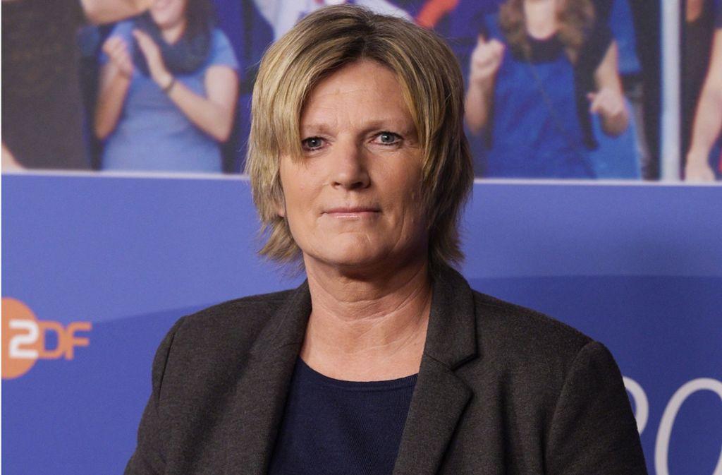 ZDF-Frau Claudia Neumann. Foto: dpa