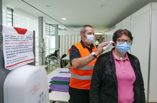 Starker Anstieg der stationären Covid-19-Patienten in den Kliniken