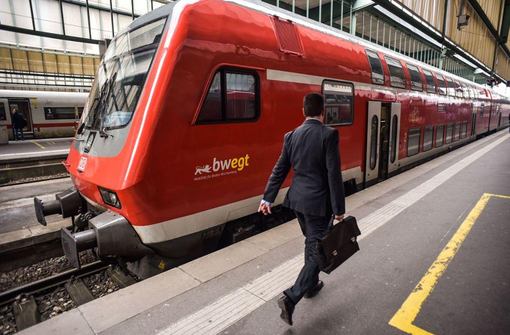 Plötzliche auftretende Zugausfälle in Stuttgart sollen besser kompensiert werden. (Symbolfoto) Foto: Lichtgut/Max Kovalenko