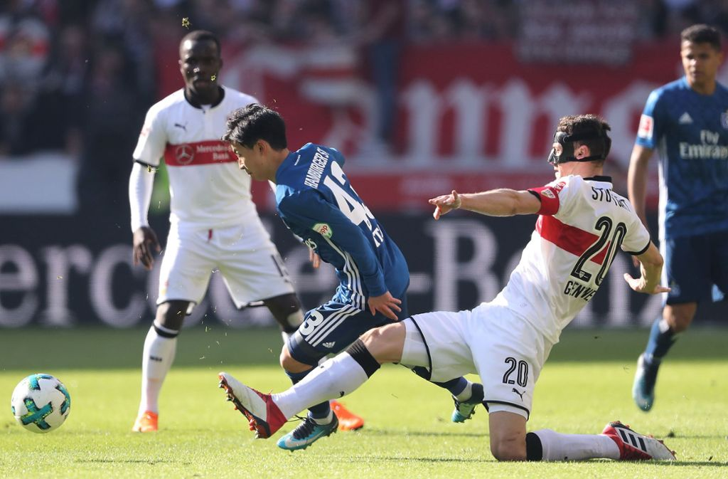 Gegen den Hamburger SV konnte der VfB Stuttgart nicht wirklich überzeugen. Foto: Bongarts