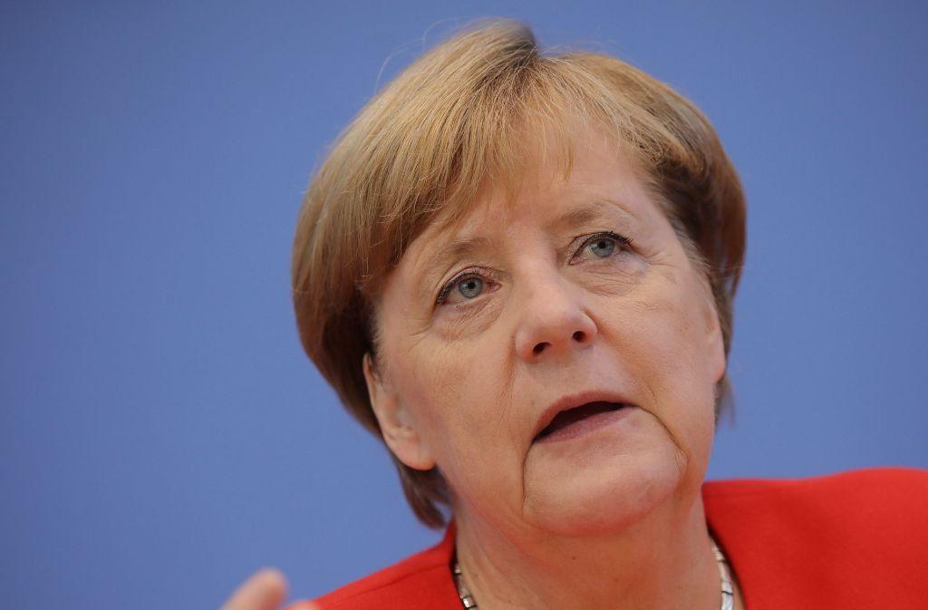 Angela Merkel greift im Dieselstreit ein. Foto: dpa