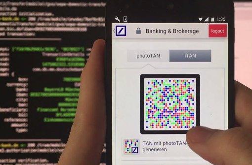 Forscher knacken Mobile-Banking-App