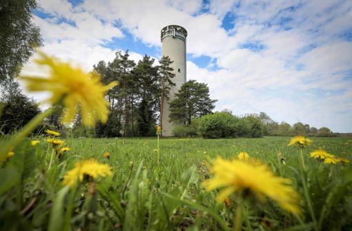Wasserturm  bleibt  auch ohne Wasser