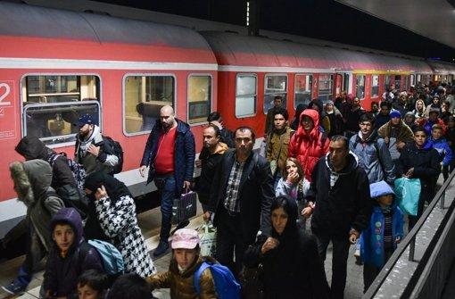 Weiter steigende Flüchtlingszahlen erwartet
