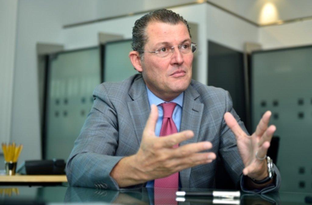 Der neue Arbeitgeberpräsident Rainer Dulger Foto: dpa