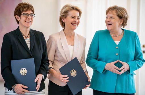 Merkels  doppelter Coup