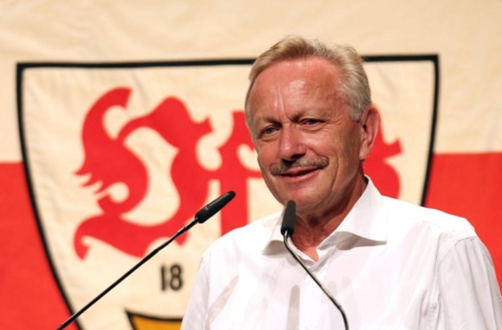 Der VfB-Aufsichtsratsvorsitzende Joachim Schmidt hat Ideen. Foto: Pressefoto Baumann