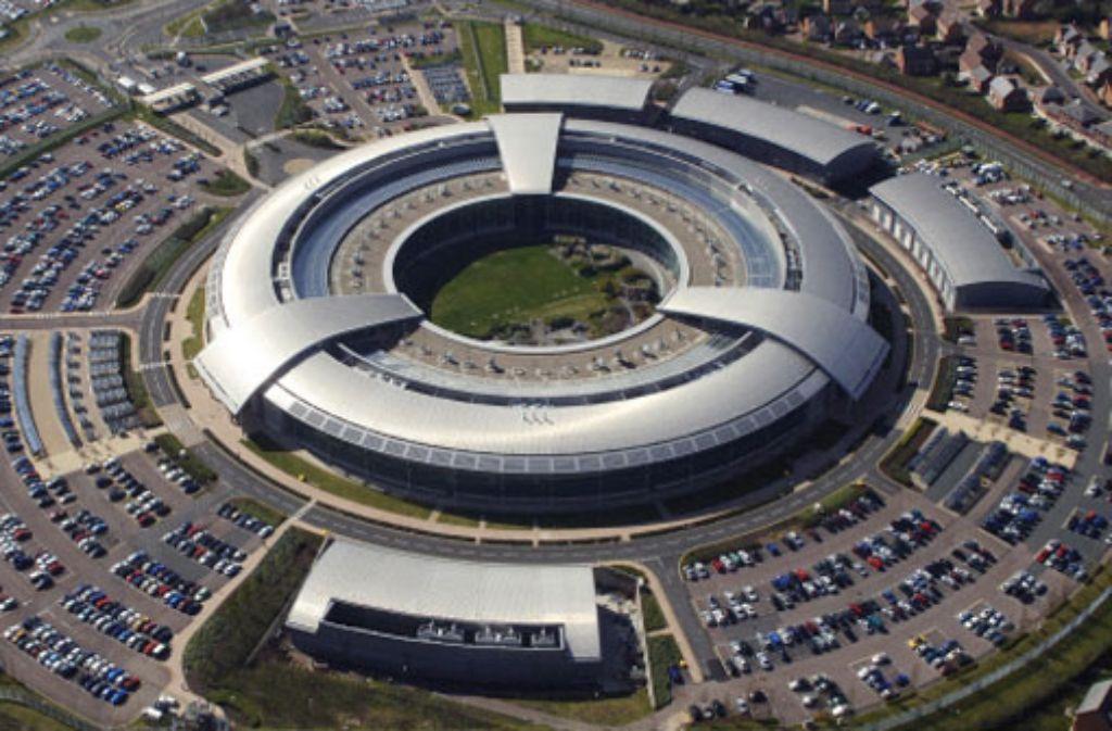 Die britische Geheimdienstzentrale in Cheltenham. Foto: dpa