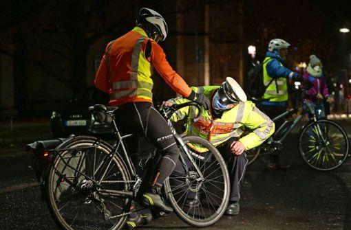 Wenn am Fahrrad die Lichter brennen