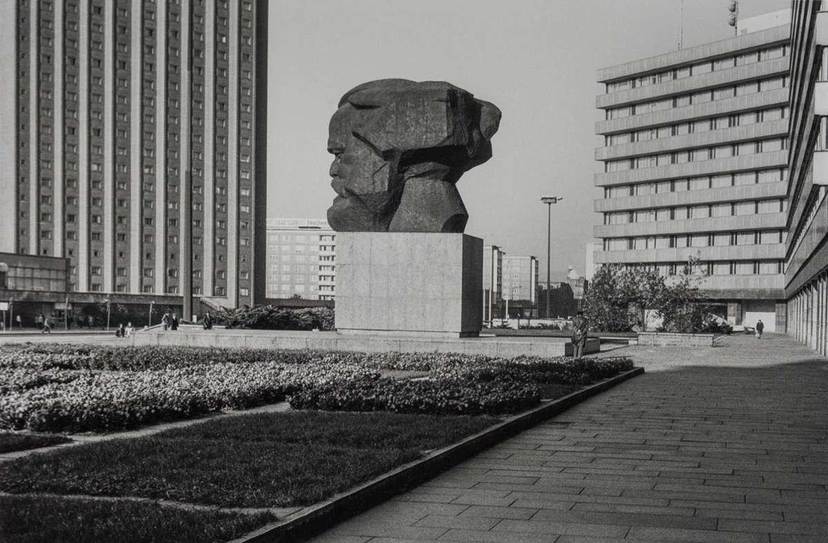 """""""Karl-Marx-Stadt 1984"""" heißt diese Aufnahme. Foto: Ulrich Wüst"""