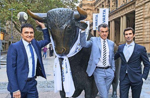 Die Varta startet furios an der Börse