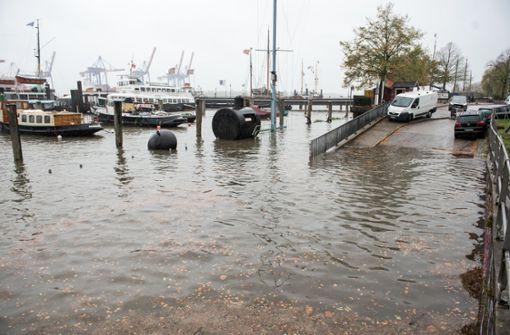 Herbststurm bringt dem Norden eine Sturmflut