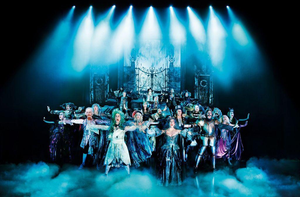 Wenn es die Corona-Krise erlaubt, will die Stage Entertainment  ihre Vampire  am 4. September in Stuttgart loslassen. Foto: Brinkhoff/Stage Entertainment